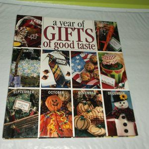 recipe an crafts book .a year of good taste